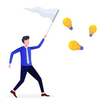 Unternehmer suchen nach ideen