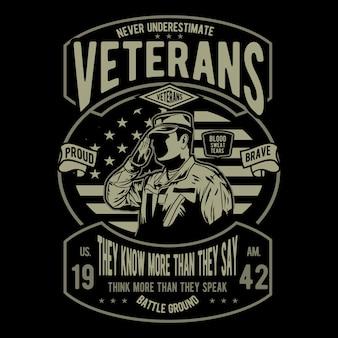 Unterschätze niemals veteranen