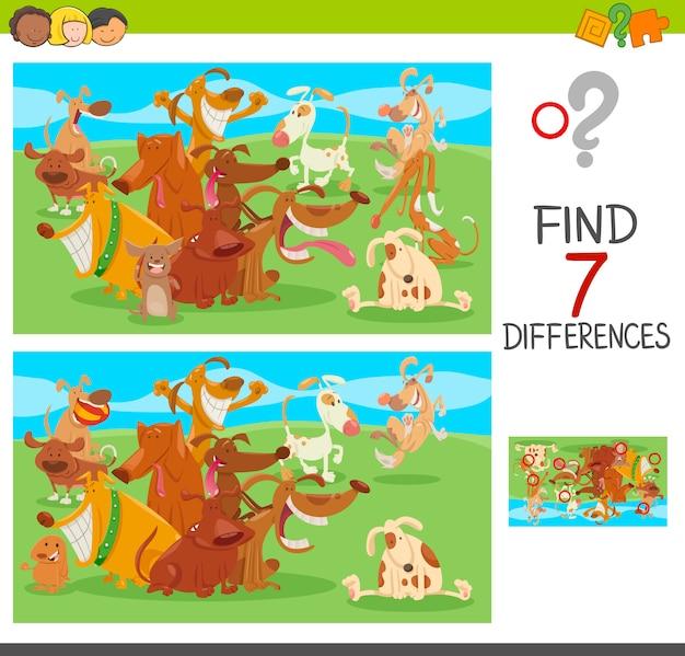 Unterschiede spiel mit hund charakteren