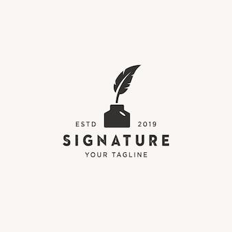 Unterschrift logo