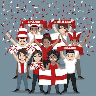 Unterstützergruppe der englischen fußballnationalmannschaft