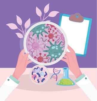 Untersuchung zum coronavirus-test