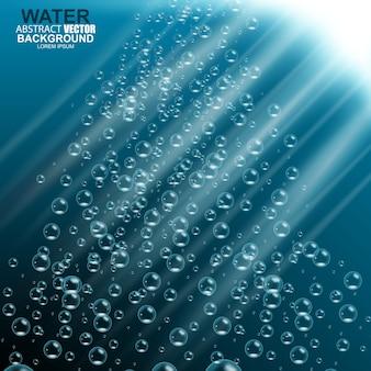 Unterwasser hintergrund vektor-illustration