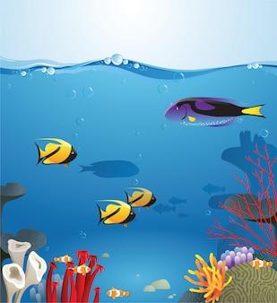 Unterwasserleben