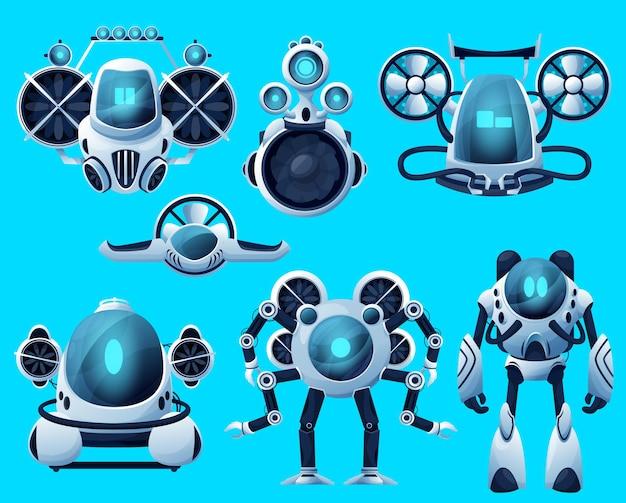 Unterwasserroboter, u-boot-seedrohnen, tiefwasserfahrzeuge des ozean-rov