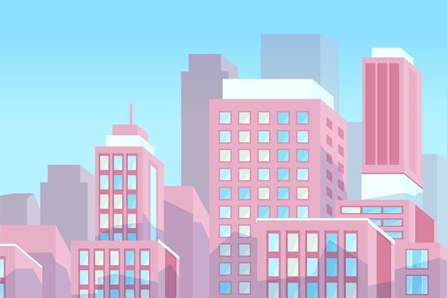 Urban city - hintergrund für videokonferenzen