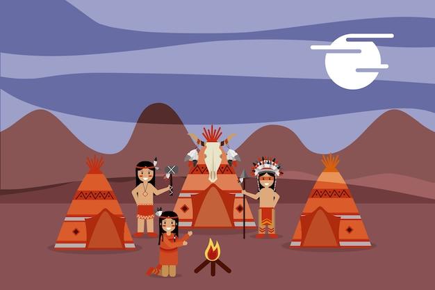 Ureinwohner menschen