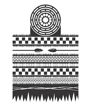 Ureinwohner-muster