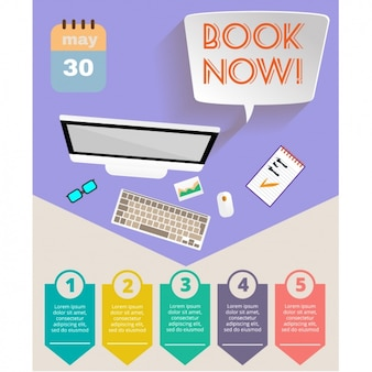 Urlaub broschüre design