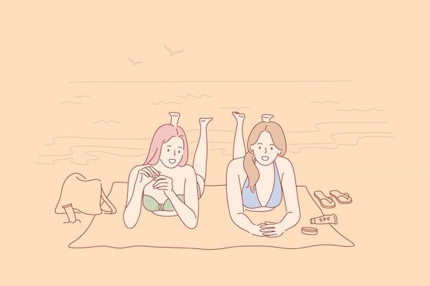 Urlaub, reisen, urlaubskonzept