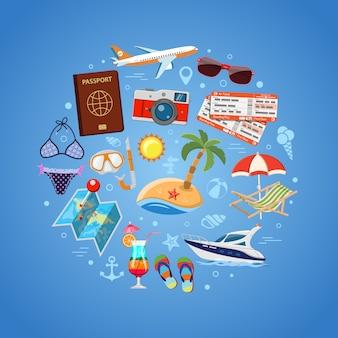 Urlaubs- und tourismuskonzept