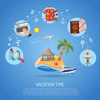 Urlaubskonzept