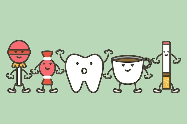 Ursachen für zahnschäden