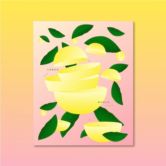 Ursprüngliche fruchtvektorillustration