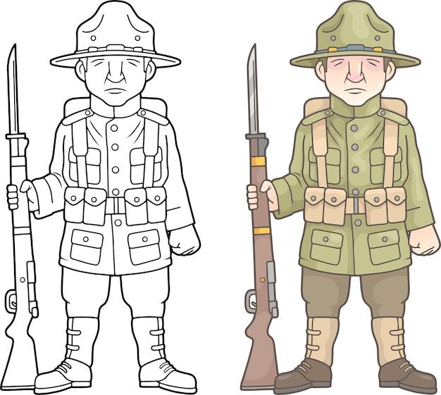 Us-soldat, weltkrieg