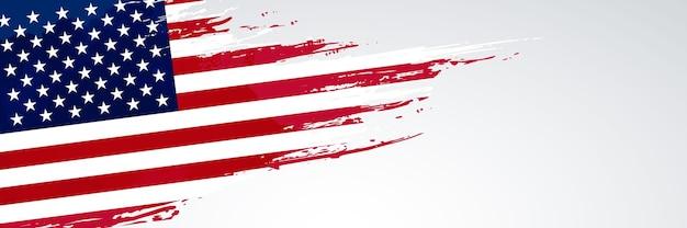 Usa banner flagge