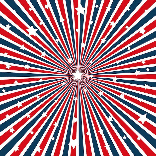 Usa flagge muster hintergrund