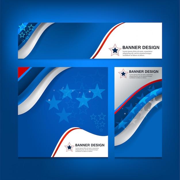 Usa-flaggen-hintergrund für unabhängigkeitstag