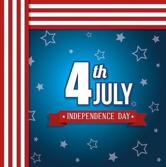 Usa glücklich unabhängigkeitstag, 4. juli feier