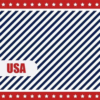 Usa hintergrund mit linien