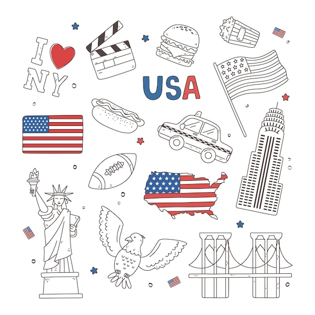 Usa-kompositionssymbole