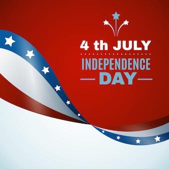Usa-unabhängigkeitstag-hintergrund