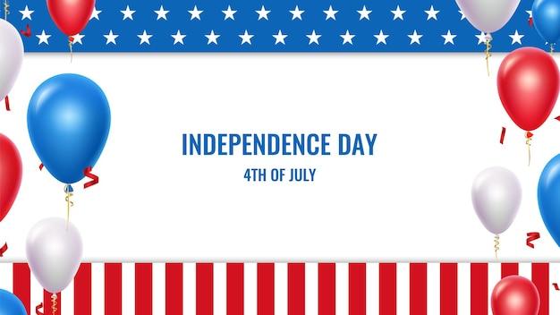 Usa unabhängigkeitstag.