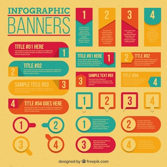 Útiles banner para las infografías