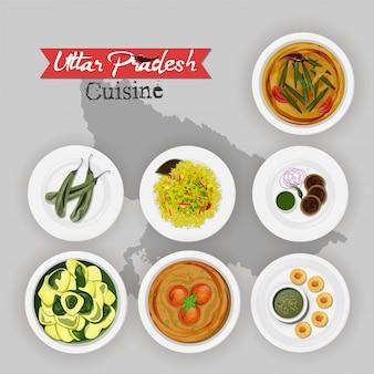Uttar pradesh küche.