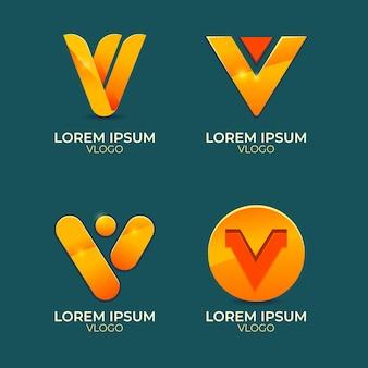 V-logo-sammlung