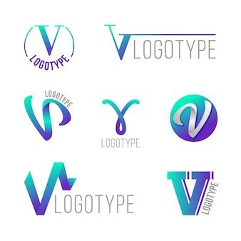V-logo-sammlungskonzept