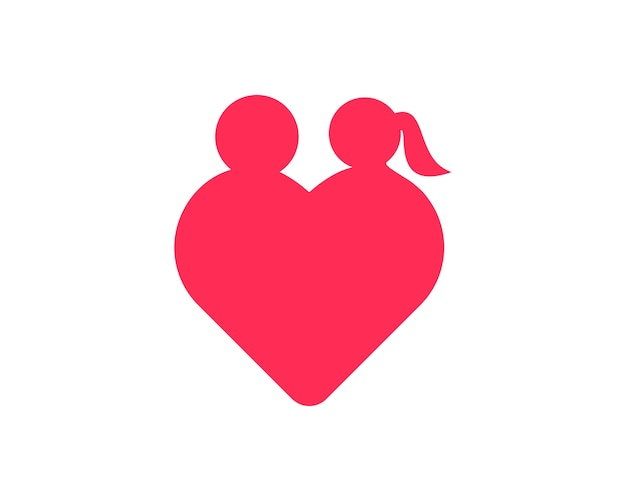 Valentin herz-logo