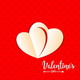 Valentine abstrakter hintergrund