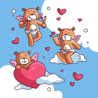 Valentine bär