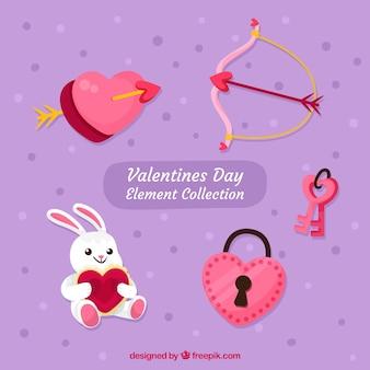 Valentine elemente sammlung