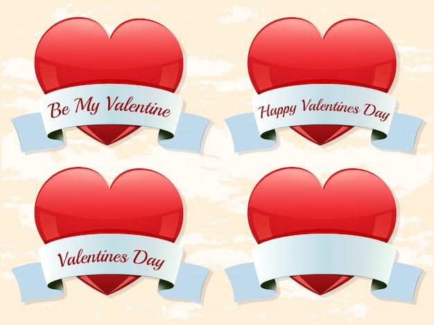 Valentine etiketten
