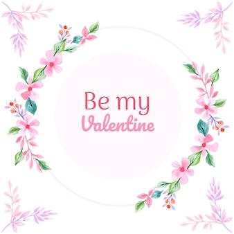 Valentine frame hintergrund
