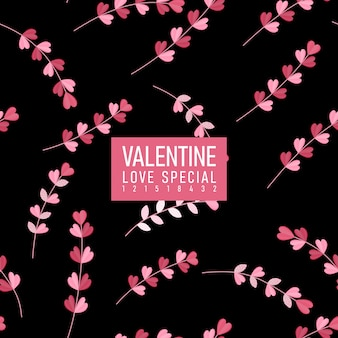 Valentine pattern - liebes-special