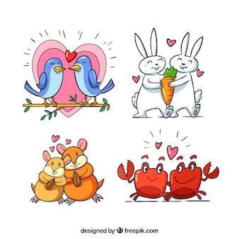 Valentine tierpaar sammlung