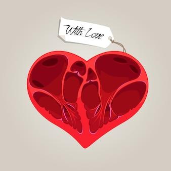 Valentines anatomie herz