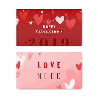 Valentines kartenentwurf