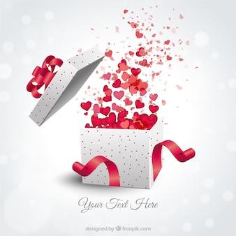 Valentines present box