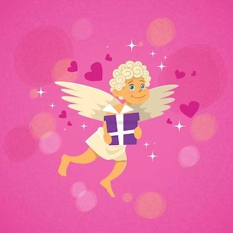 Valentins engel amor