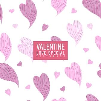 Valentinsgruß-nahtloses muster - liebes-specials