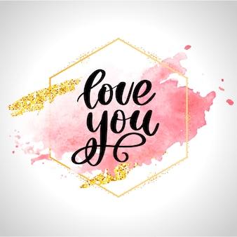 Valentinsgrußplakat, karte, fahnenbuchstaben-sloganelemente für valentinstagelemente. typografie liebesherz