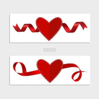 Valentinstag bänder sammlung