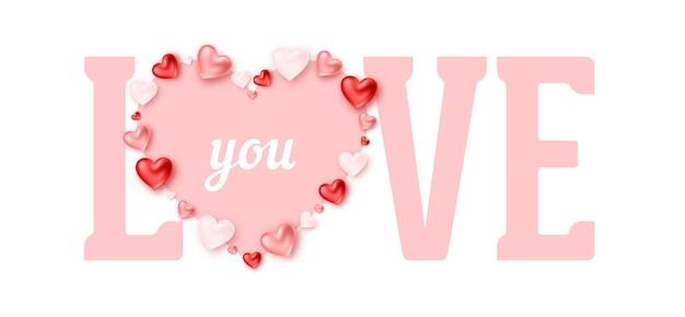 Valentinstag banner design