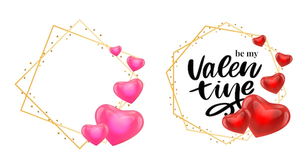 Valentinstag design-elemente