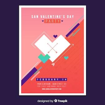 Valentinstag-flyer-party