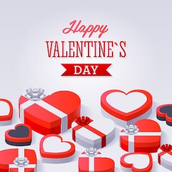 Valentinstag-geschenkboxen